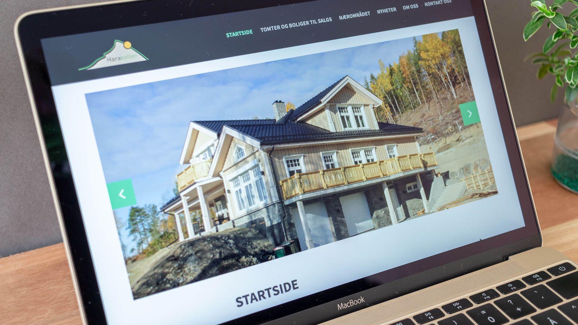 Umas das imagens da apresentação inicial do Web site